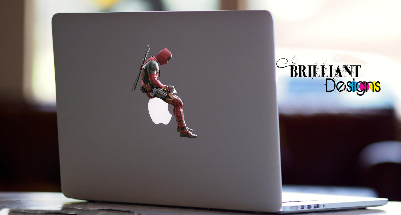 Apple Inc. clipart mac pro Macbook Deadpool Macbook decals Deadpool