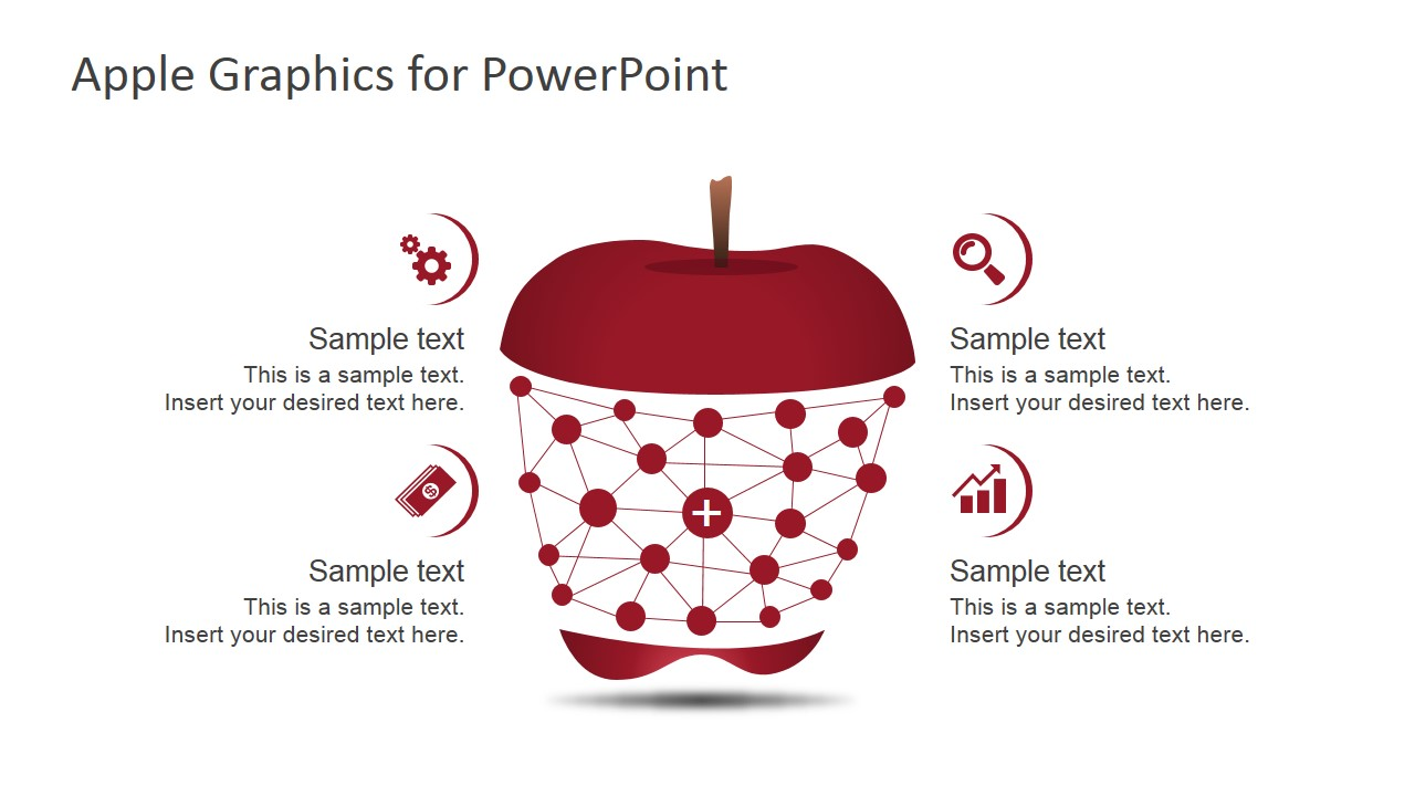 Apple Inc. clipart powerpoint Shapes Apple Apple SlideModel Graphics