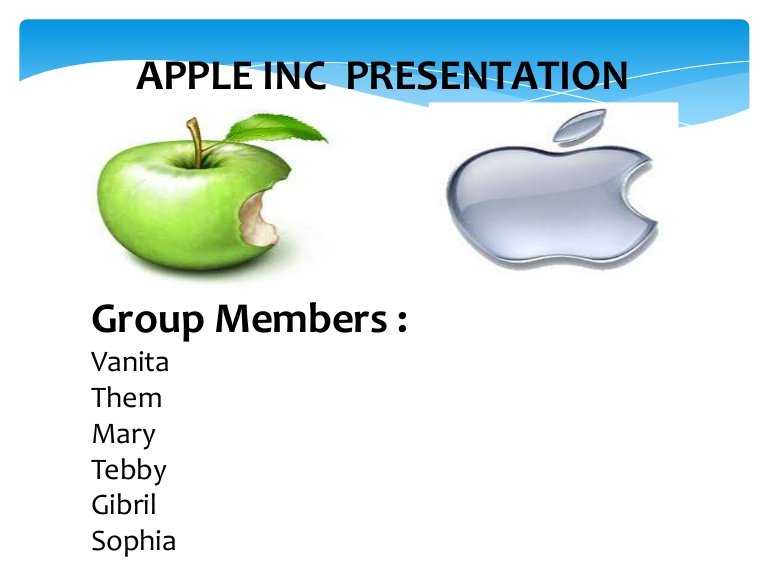 Apple Inc. clipart powerpoint Final presentation  Apple ppt