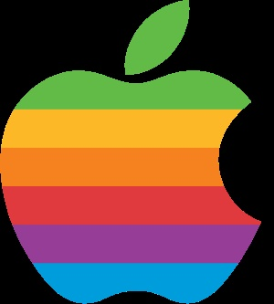 Apple Inc. clipart rainbow #14