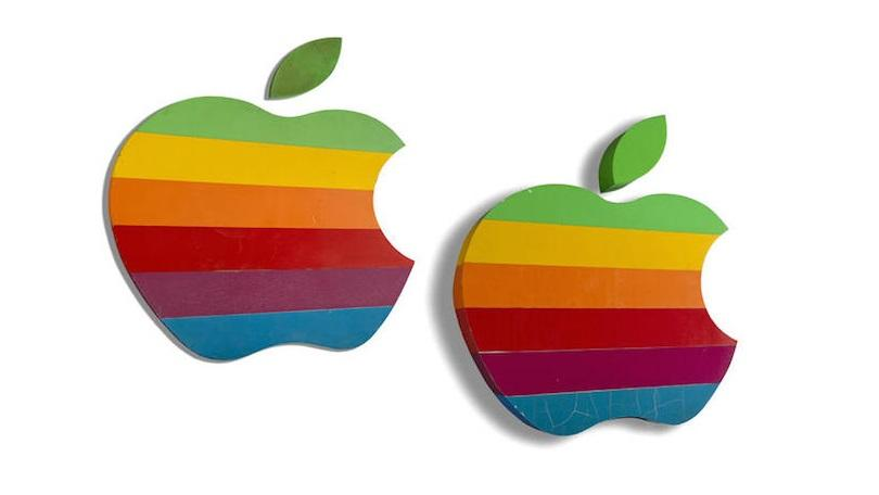 Apple Inc. clipart rainbow #4
