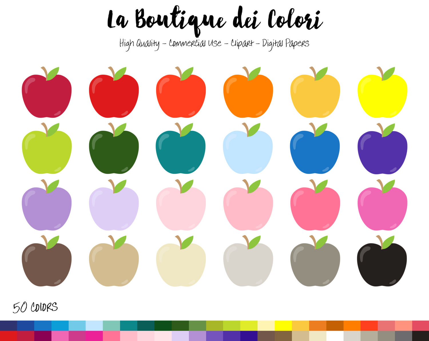 Apple Inc. clipart rainbow #8