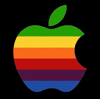 Apple Inc. clipart rainbow #11