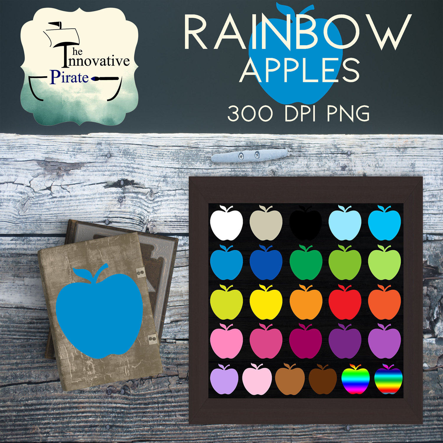 Apple Inc. clipart rainbow #13