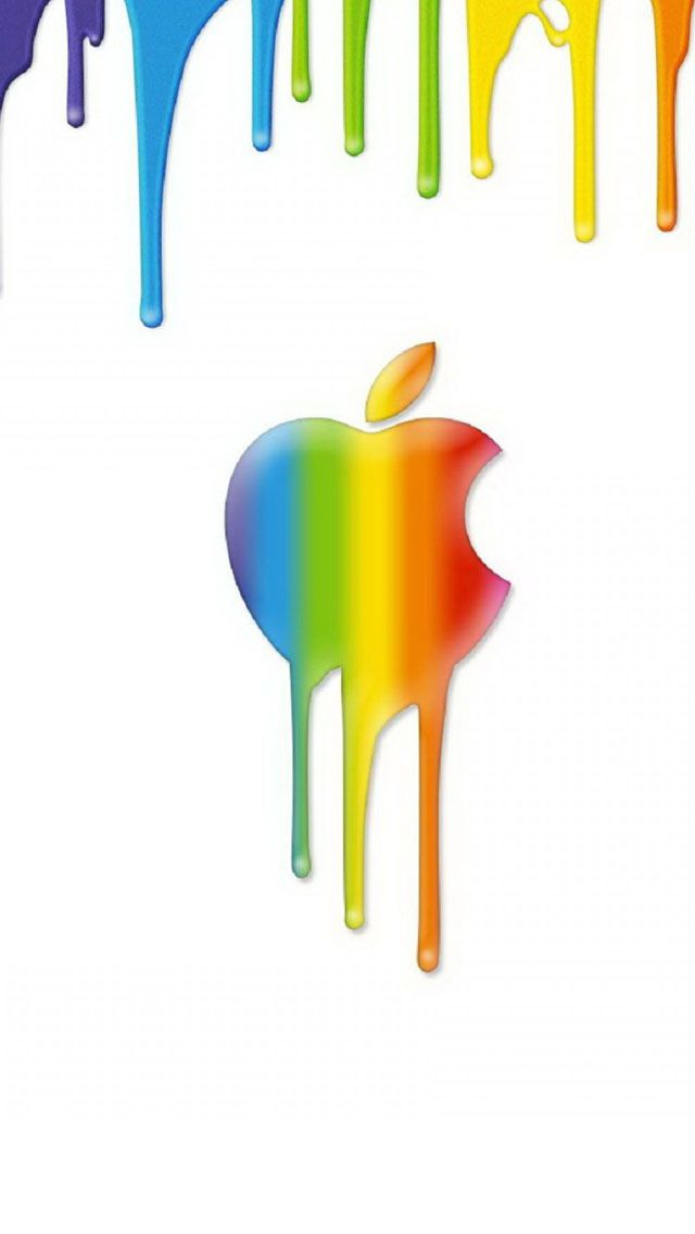 Apple Inc. clipart rainbow #12