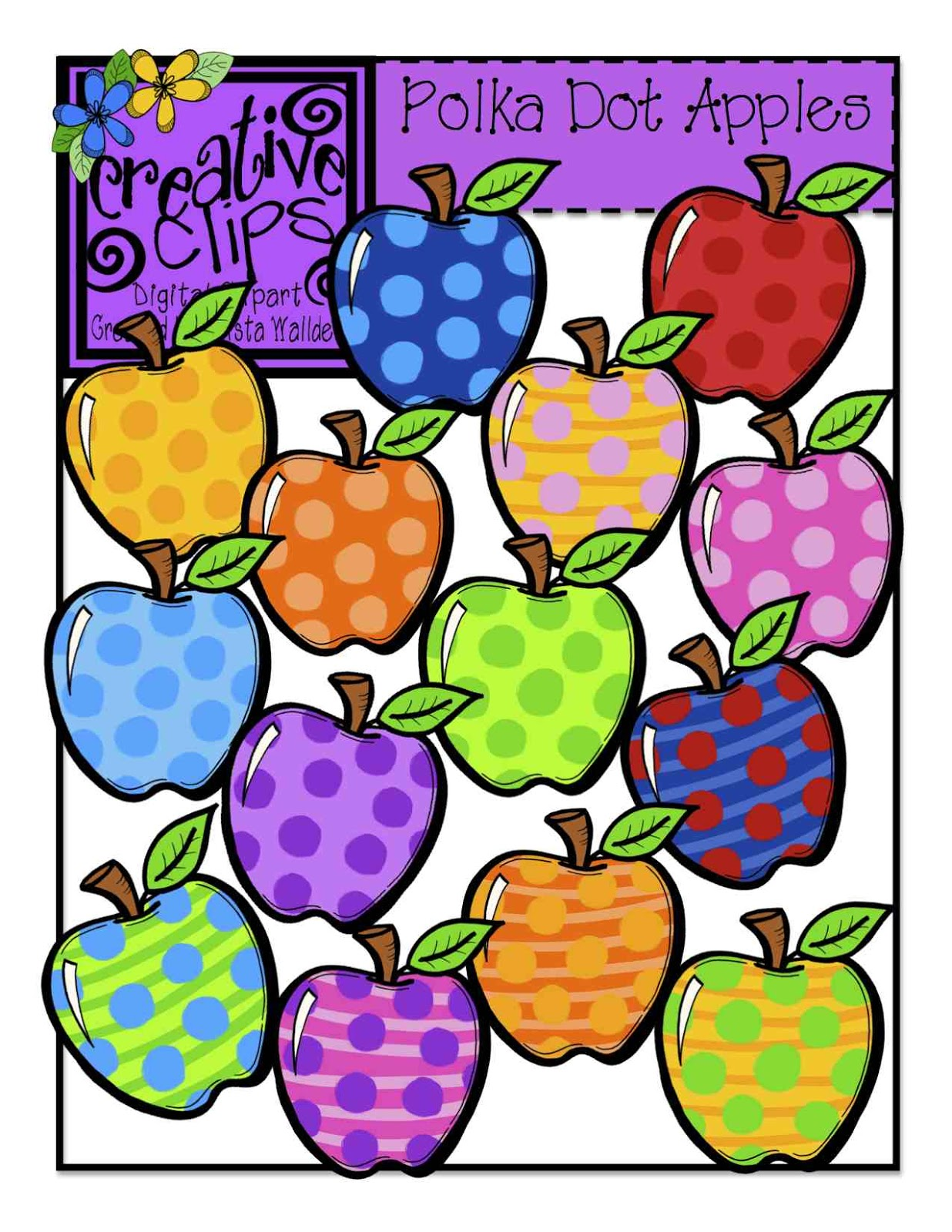 Apple Inc. clipart rainbow #15
