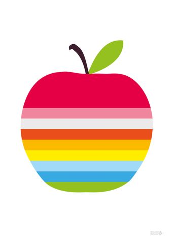 Apple Inc. clipart rainbow #6