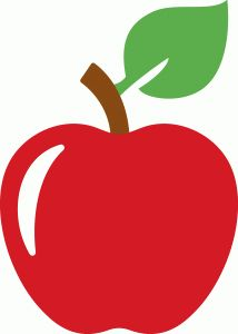 Apple clipart silhouette Files on Apple Pin Silhouette