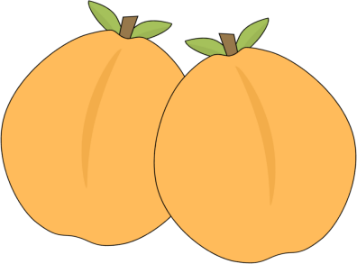 Apricot clipart cartoon Image Pair Apricot of of