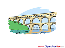 Aqueduct clipart For Art high printable Illustrations