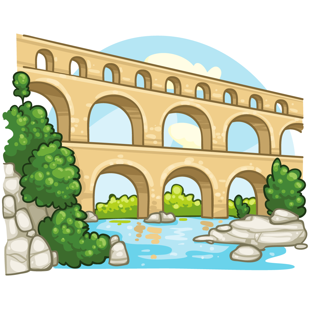 Aqueduct clipart  :: :: ItemBrowser ItemBrowser