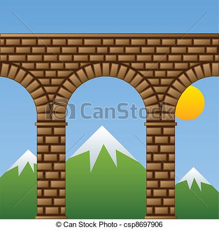 Aqueduct clipart Photography Photos 606 aqueduct and