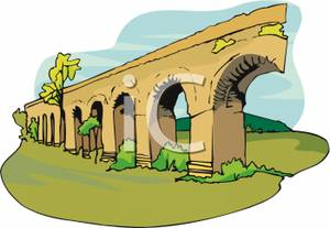 Aqueduct clipart Clipart Picture Royalty Bridge Royalty
