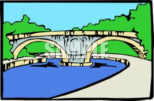 Aqueduct clipart Clipart A Royalty Free Bridge