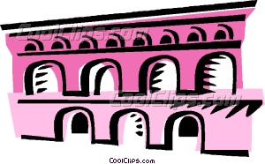 Aqueduct clipart And Clip and Walls Aqueducts