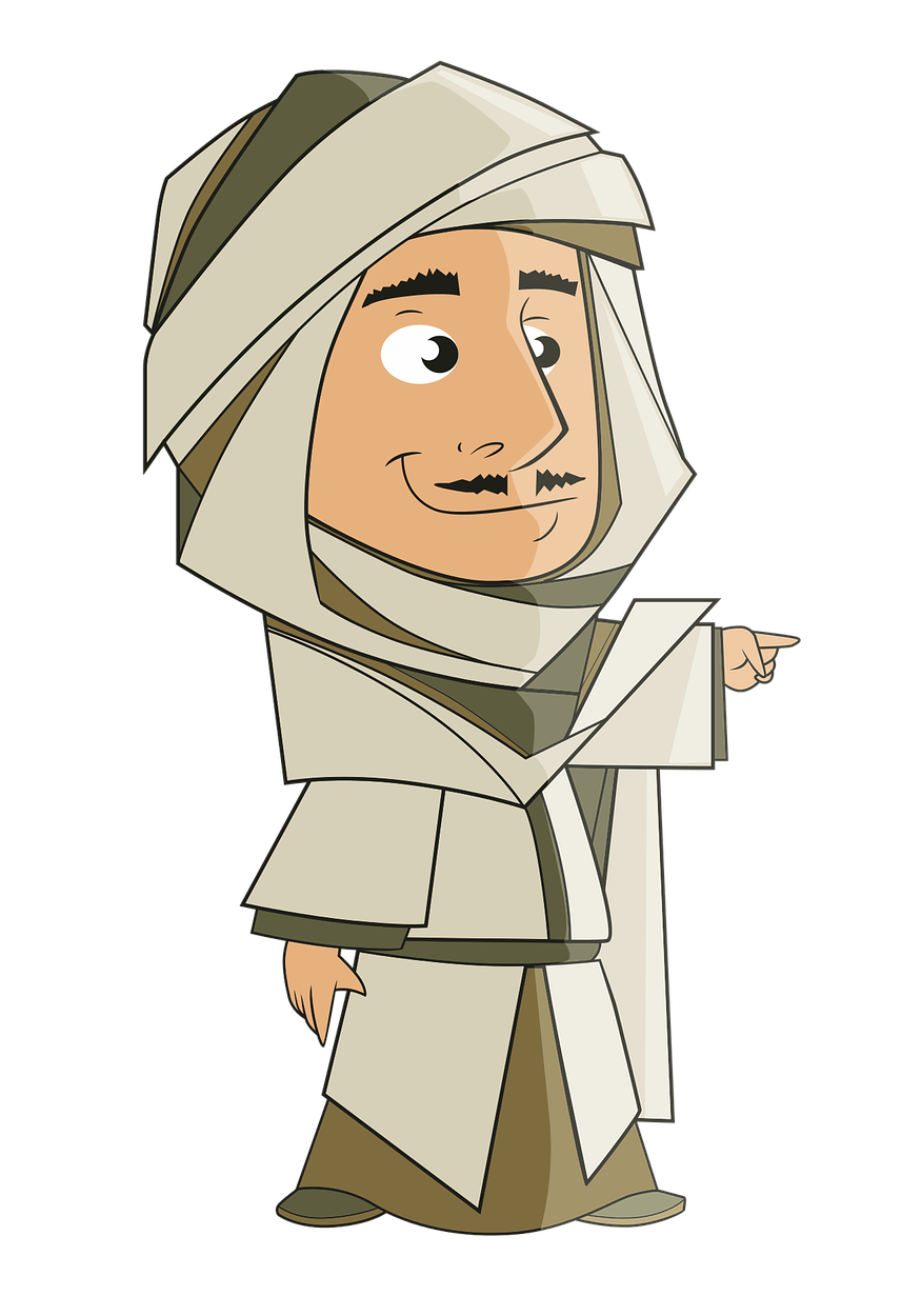 Arab clipart #12