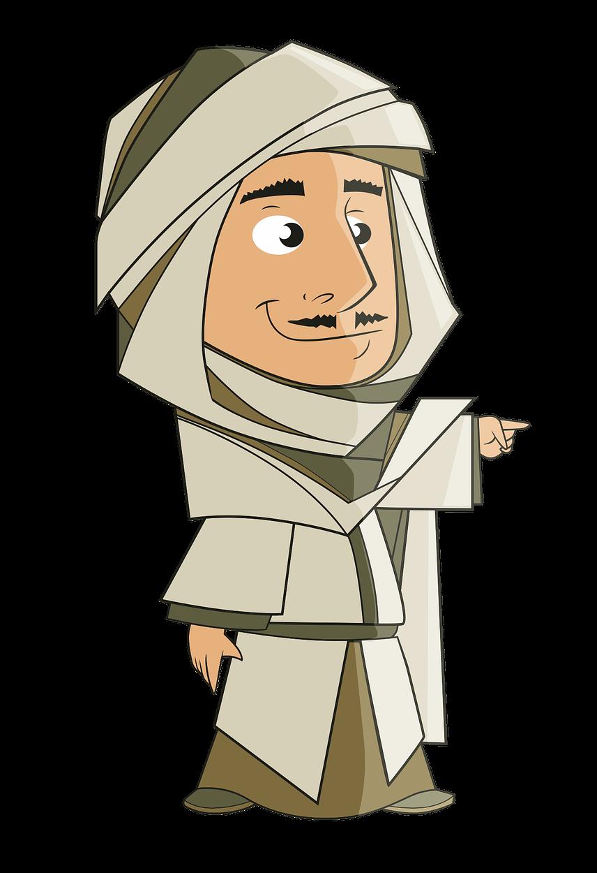 Arabian clipart Free Cartoon Arabian & to