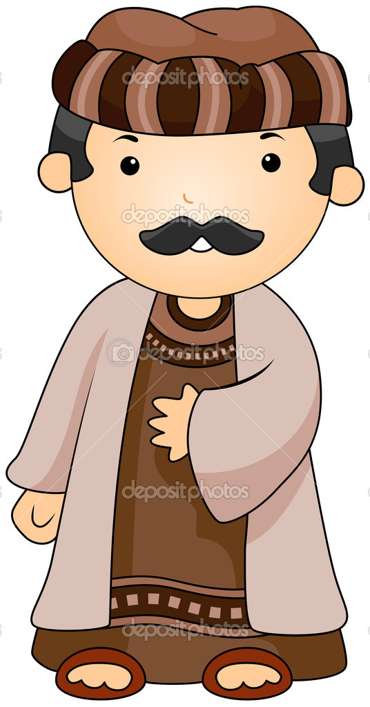 Arabian clipart arabic man #3