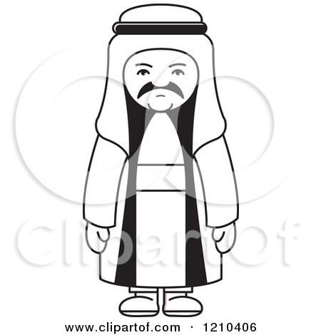 Arab clipart #6