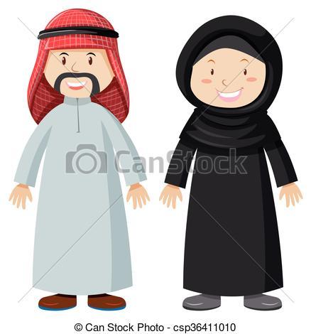 Arab clipart Arab  woman woman and