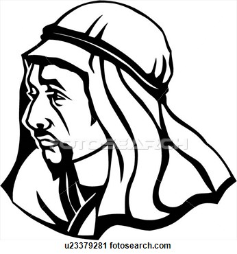 Arab clipart black and white Free Arab Clipart Images Clipart