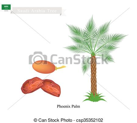 Arabian clipart palm tree #14