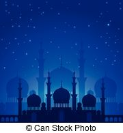 Arabien Nights clipart Blue beautiful in  Arabian