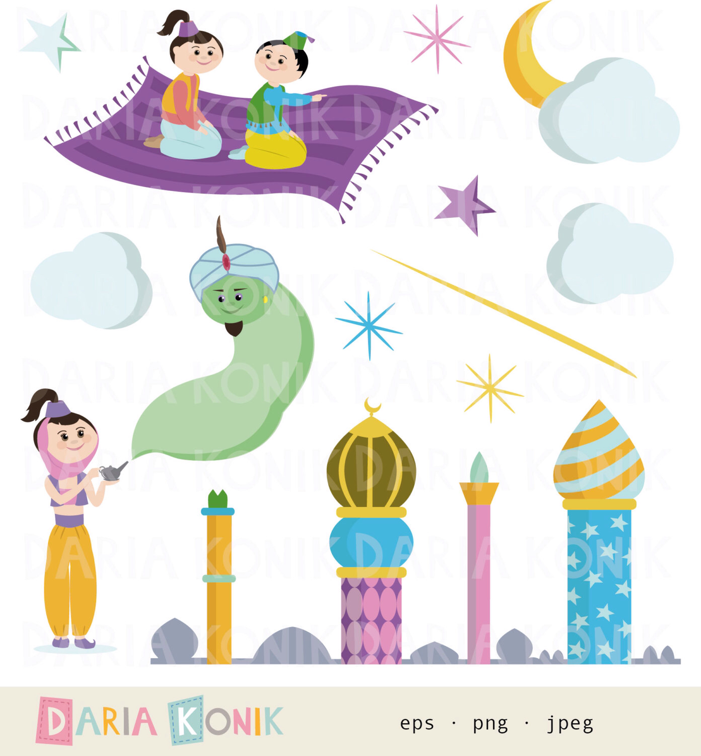 Arabien Nights clipart Arabian Clip Night Thousand png