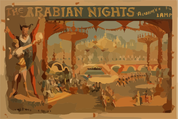Arabien Nights clipart aladdin lamp Or Lamp Download Arabian Wonderful
