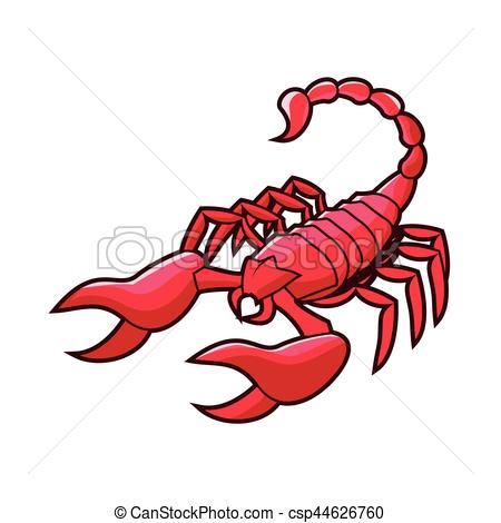 Scorpion clipart red scorpion #2