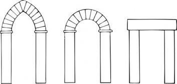 Arch clipart #4