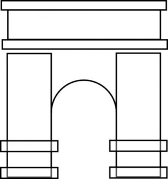 Arch clipart #15