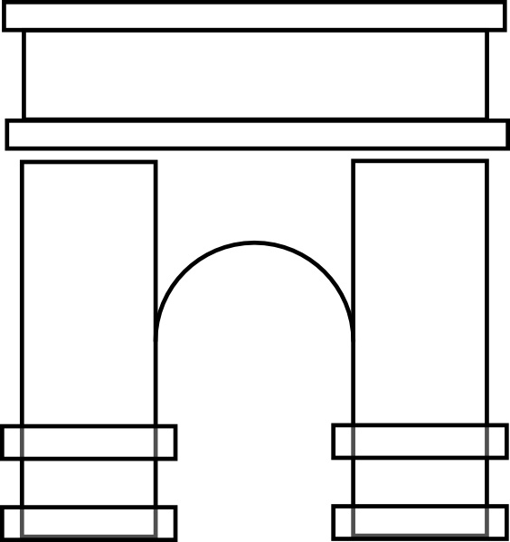 Arch clipart #11