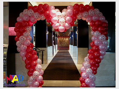 Arch clipart balloon decoration Love Valentines idea shaped Love