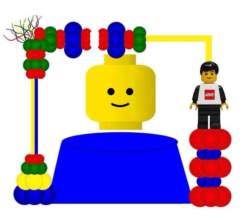 Arch clipart balloon decoration Lego Pachanga Balloon Balloon Ivel's