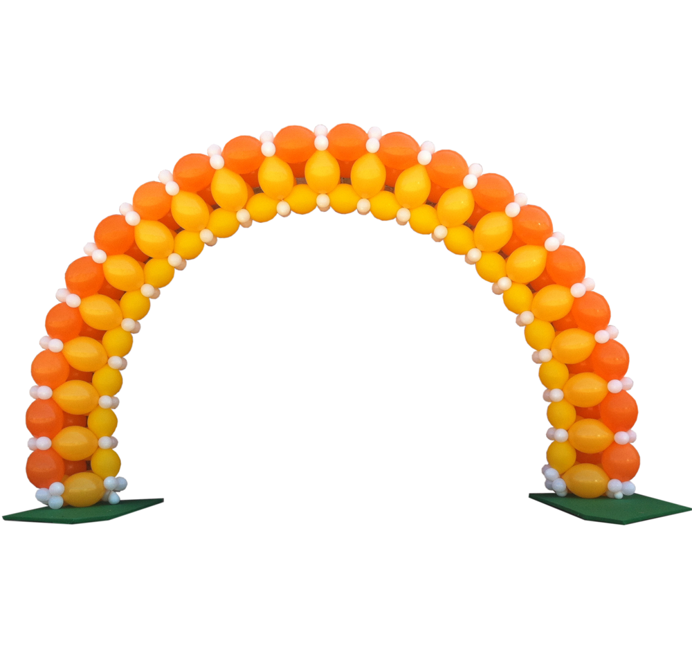 Arch clipart balloon decoration  Custom Balloon Arch Arch