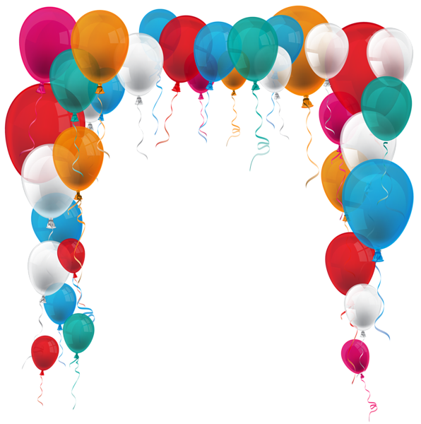 Arch clipart balloons party Rund PNG Balloon Balloon Image