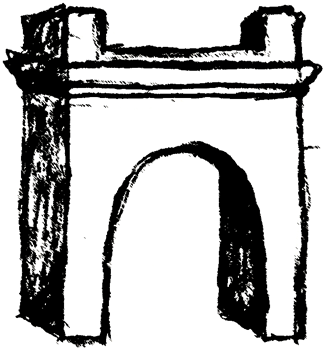 Art Library Clip Arch arch