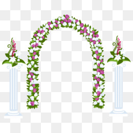 Arch clipart flower arch Fantasy flowers Download Png Vectors