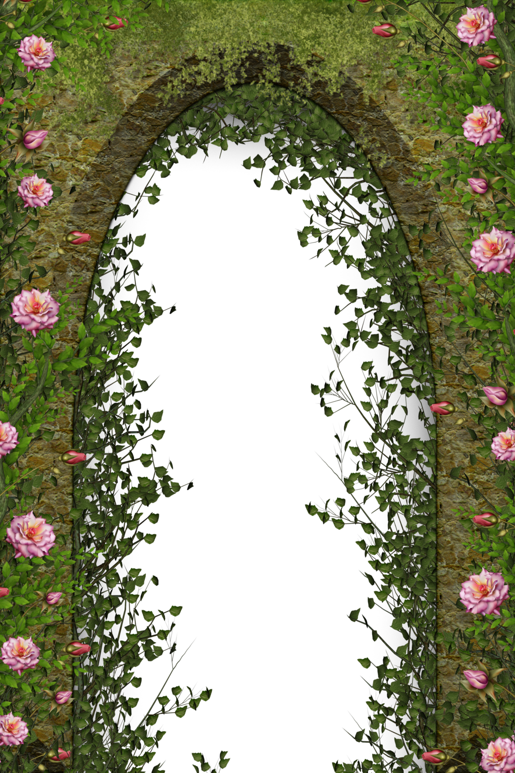 Arch clipart flower arch  Floral collect collect and