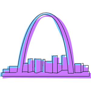 Arch clipart gateway arch #3