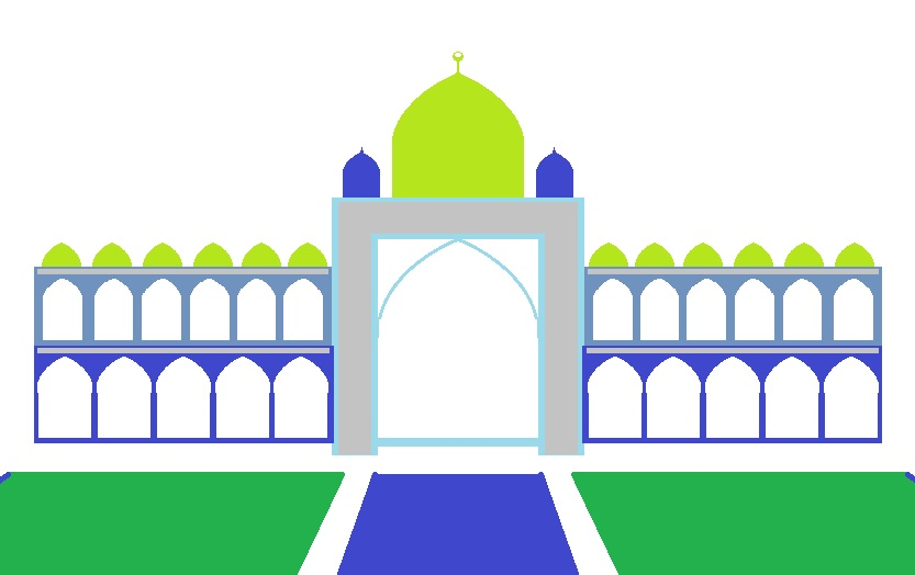 Arch clipart mughal #2