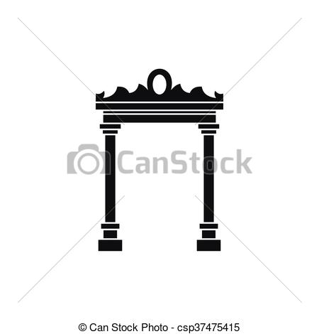Arch clipart simple Of icon Arch Art icon