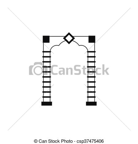 Arch clipart simple Arch in icon of icon