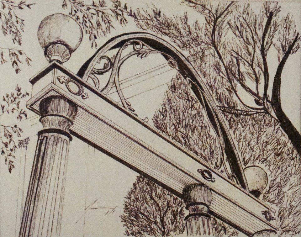 Arch clipart uga #4