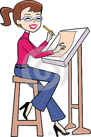 Architecture clipart Architect Girl clipart Architect images