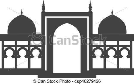 Building historical Vector building of