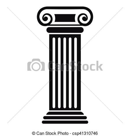 Architecture clipart column style Roman column style Roman