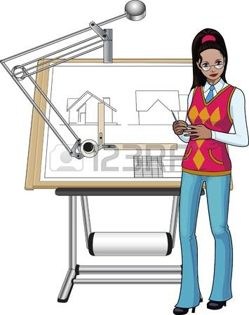 Desk clipart student learning 904 Architect 2 clipart Cliparts