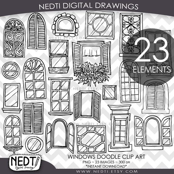 Architecture clipart journal entry Ideas Windows 25+ on Doodle